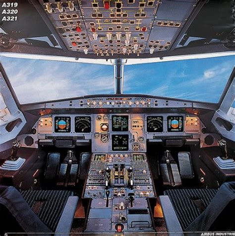 cabina di pilotaggio airbus a380 airbus a319 a320 a321 cockpit poster