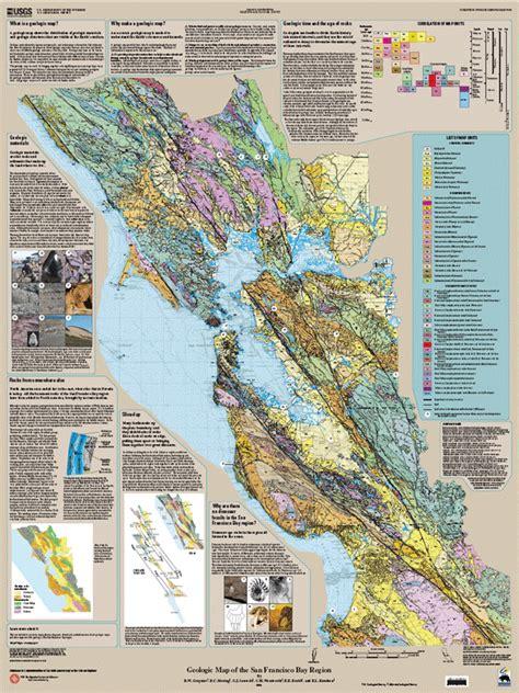 san francisco geological map san francisco bay area earthquakes