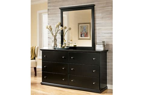 black bedroom dressers and chests furniture black wooden storage drawer cabinet with mirror