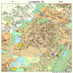 livingston new jersey map 3440920