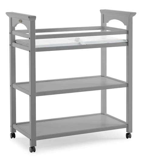 graco changing table pebble gray amazon com graco lauren changing table pebble gray baby