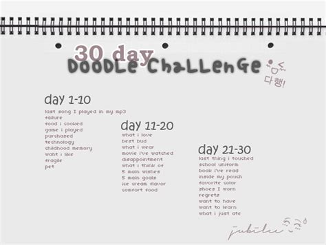 doodle daily challenge myxilog the all purpose 30 day doodle challenge