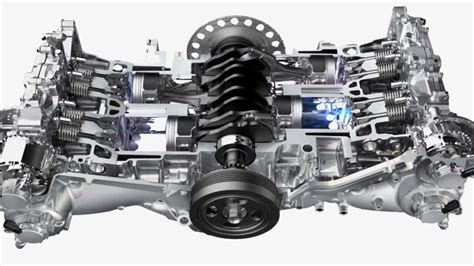 the subaru boxer 174 engine was designed for balance