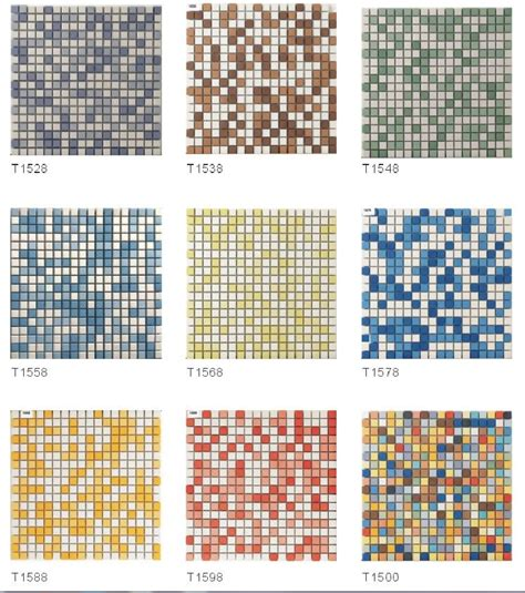 mosaic pattern puzzles puzzle pattern mosaic tile new design wall tile ceramic