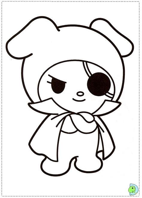 my melody coloring pages free coloring pages of and my melody