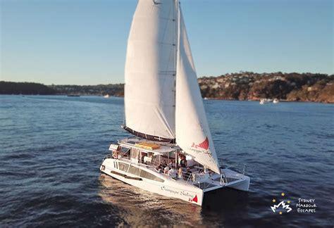 sailing hire sydney harbour chagne sailing hire corporate boat charter sydney