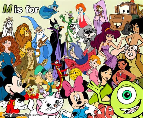disney characters h r names beginning with the letter m the disney alphabet