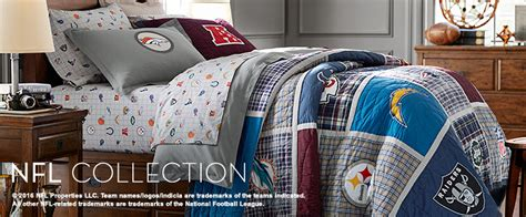 Nfl Comforters by Nfl Bedding Football Bedding Pbteen