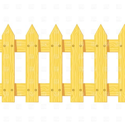 fence clipart wooden fence clipart clipart suggest