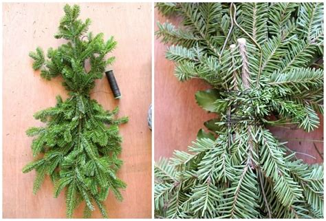 how to make a wreath from branches 25 best ideas about swags on swags for doors merry and