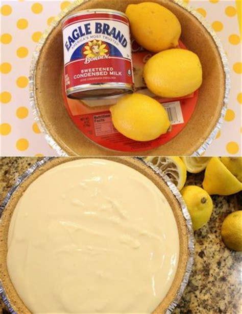MyFridgeFood   No Bake Lemon Pie