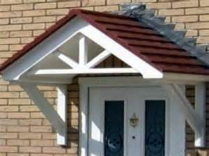 Small Porch Awning Architectural Moldings Over Door Canopies