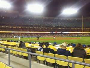 section 16 b dodger stadium section 36fd row b seat 5 los angeles