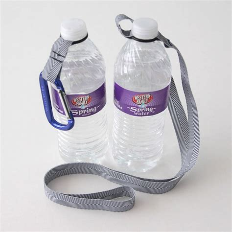 diy water bottle stand easy diy o ring water bottle holder its always water bottles and bottle
