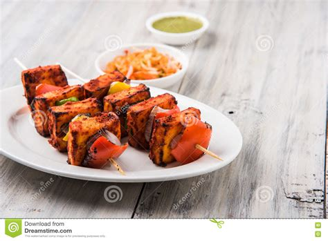 Chilli Cottage by Grilled Cottage Cheese Or Also Known As Paneer Tikka Kebab
