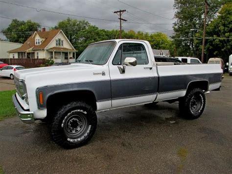 CLEAN!!! Lifted 77 Chevy 3/4 Ton Bonanza 4x4 Beautiful Truck   Nex Tech Classifieds