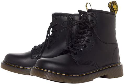 dr marten boots dr martens junior delaney boots black sourpuss clothing