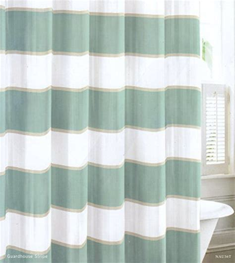 teal and beige curtains nautica wide stripes teal turquoise beige white cabana