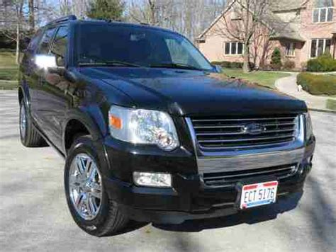 auto air conditioning service 2008 ford explorer navigation system sell used 2008 ford explorer ltd v8 4wd seats 7 audiophile sound sync nav in sidney ohio