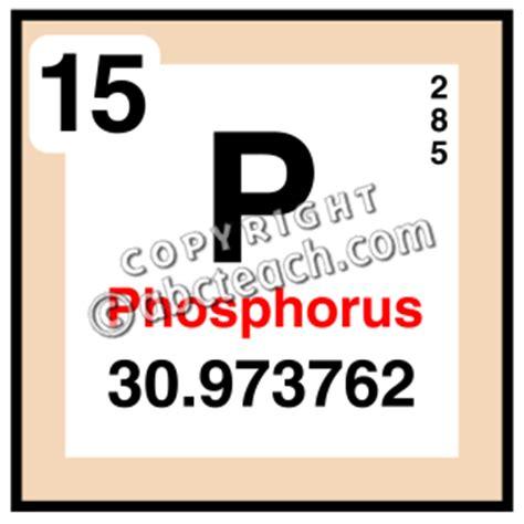 what color is phosphorus clip elements phosphorus color abcteach