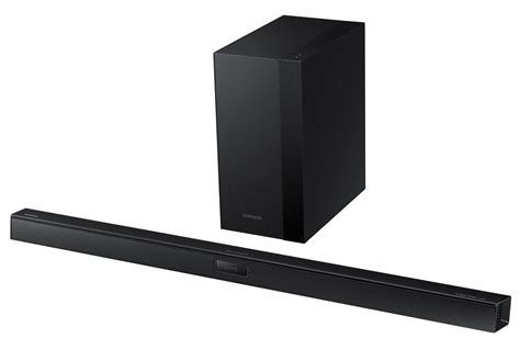 samsung hw hm45c 290 watt 2 1 channel bluetooth sound bar w wireless subwoofer ebay