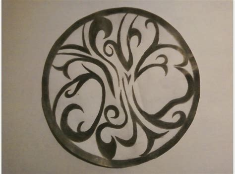 tribal tree of life tattoo by ladypanther50140 on deviantart