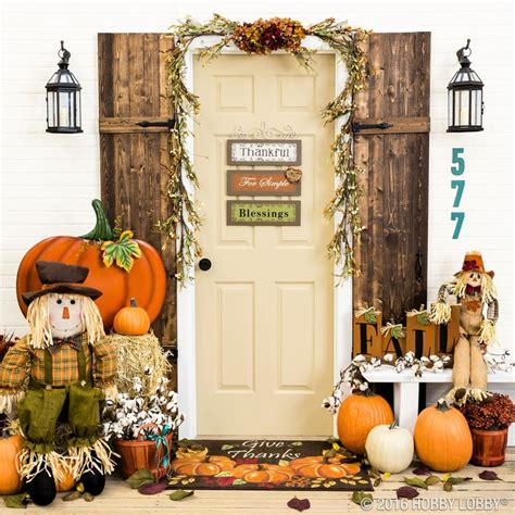 Pumpkin Colored Curtains Decorating Fall In With Your Front Door Decor Add Pumpkins And Pops Of Color For A Festive Porch