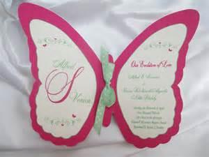 butterfly shaped wedding program fans download free