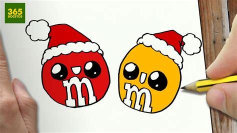 imágenes de navidad kawaii como dibujar m m 180 s para navidad paso a paso dibujos