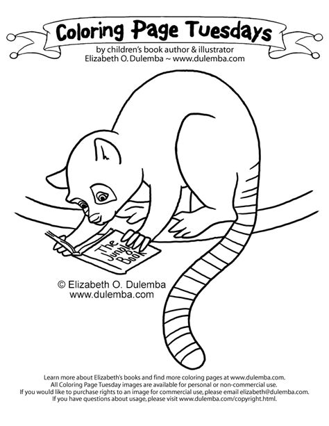 mouse lemur coloring page all the holiday hub bub can just wear a little mouse right