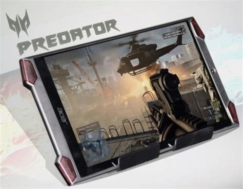 gamers rejoice acer unveiled the predator tablet and