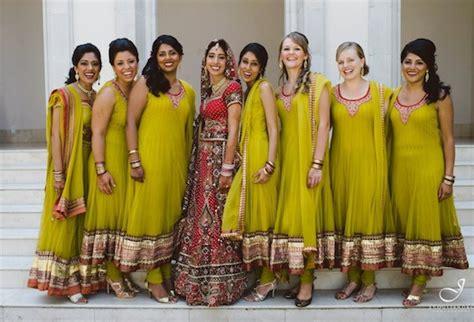 bridesmaids   indian wedding   wear