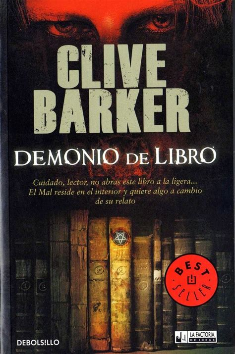 libro if you could see demonio de libro de clive barker libros de terror libros