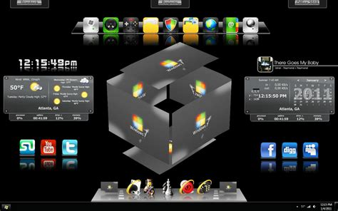 themes for windows 7 3d 3d shapes windows 7 theme um super pacote picture to pin