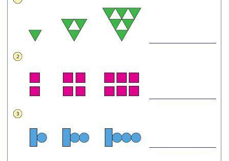 pattern definition math growing pattern type 2 patterning pinterest math