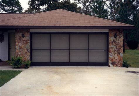 Garage Doors Kits Garage Door Screen Kits Home Design By Larizza