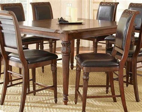 discounted kitchen tables steve silver alberta 58x40 rectangular counter height table cheap bedroom furniture sets