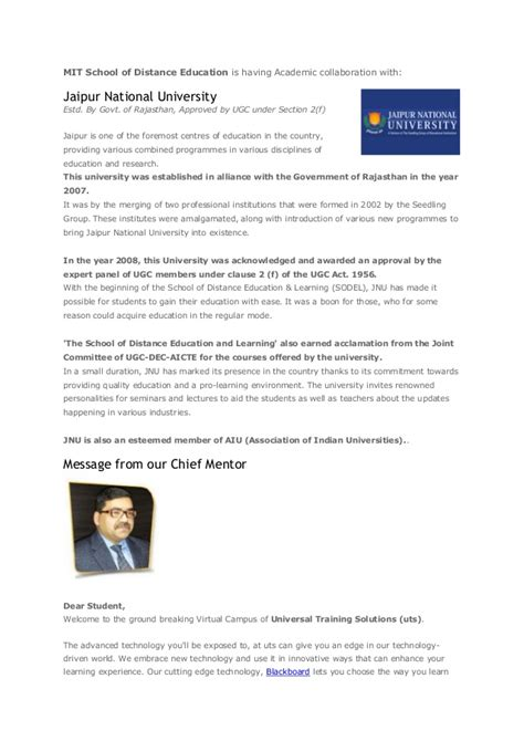 Pg E Mba Leadership Program by Pg Diploma Mba In Bpo Management