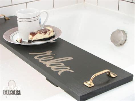 diy bathtub tray diy bathtub tray tutorial prodigal pieces