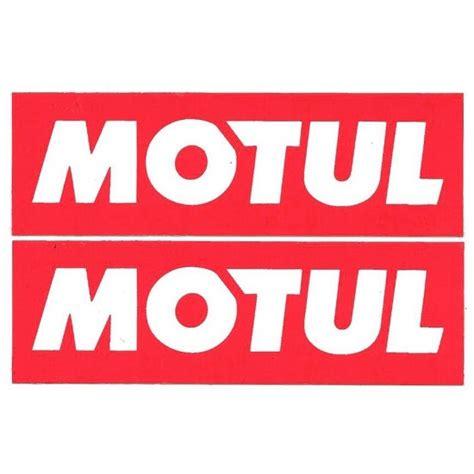 Cars Logo Sticker by Motul Logo Vinyl Sticker Decal For Bikes Cars And Laptop