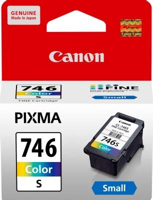 Tinta Canon 746 Cl 746 canon cl 746 s multicolor ink magenta cyan yellow available at flipkart for rs 746