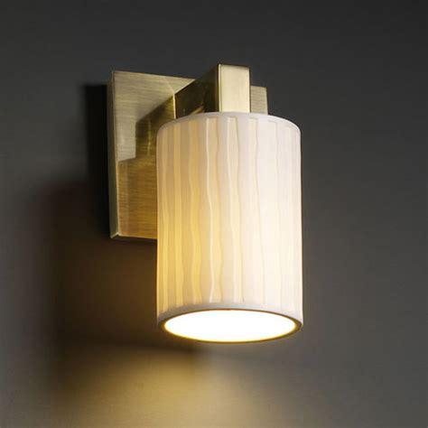 Flat Wall Sconce Modular Cylinder Flat Limoges Wall Sconce Modern Wall Sconces By Lightology