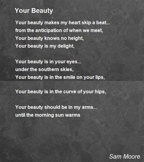 poems your your poem by sam poem