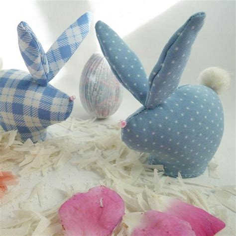Sew Home Decor by Sew Mini Easter Rabbits With Soles Free Sewing Pattern