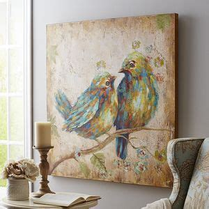quirky home decor inspired by birds multi colored quirky birds art canvas home decor wall