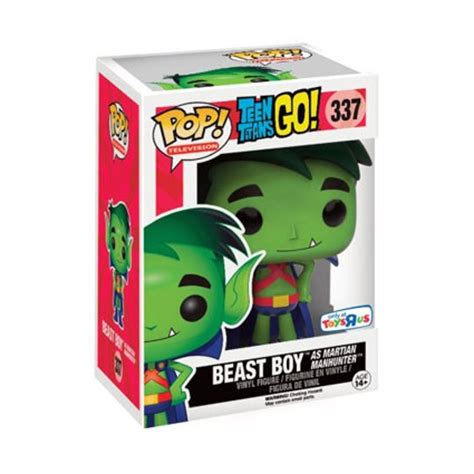 Funko Pop Tv Go Tnbts Beast Boy toys pop dc go beast boy as martian manhunter