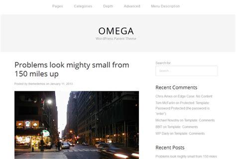 theme wordpress omega th 232 mes wordpress gratuits et responsives