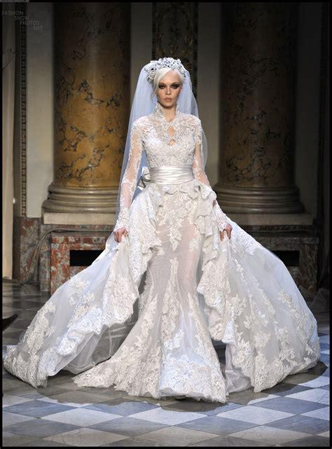 Beautiful Wedding Dresses by Beautiful Couture Veil Wedding Dress Zuhair Murad