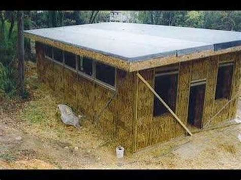 Straw Bale Shed Plans by Build A Shed From Straw Bales