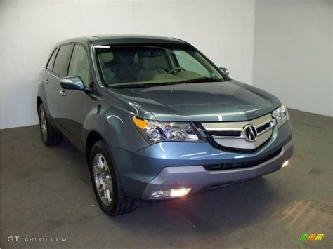 2008 steel blue metallic acura mdx technology 20234820 gtcarlot car color galleries